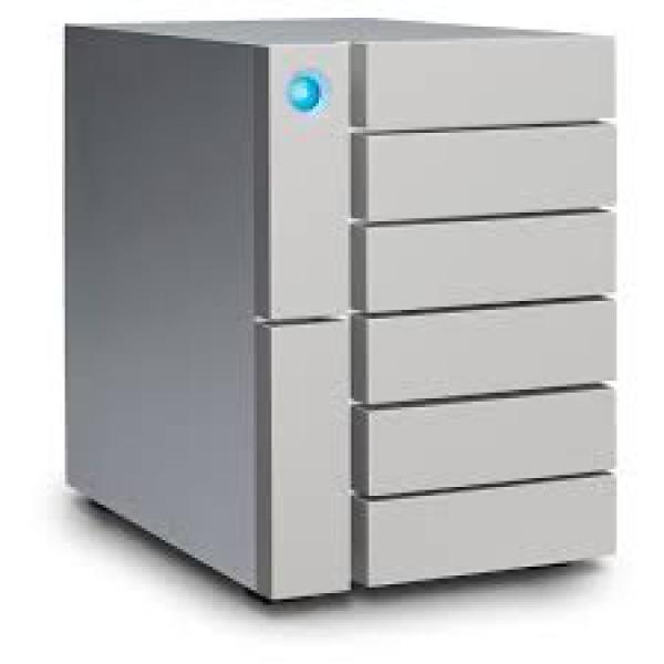 Lacie 6Big THB 3 24 TB Raid Storage USB CTHB External Portable (STFK24000400)