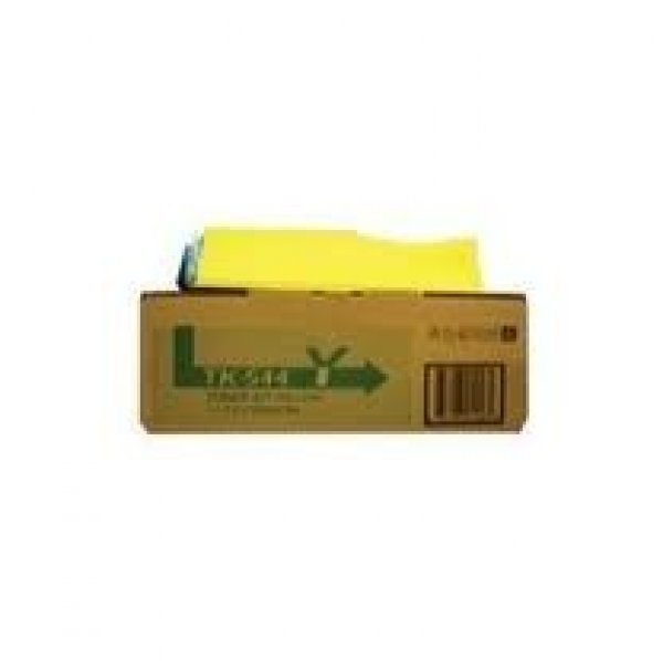 KYOCERA Tk544y Yellow Toner Kit (4000 Pages In 1T02HLAAS0