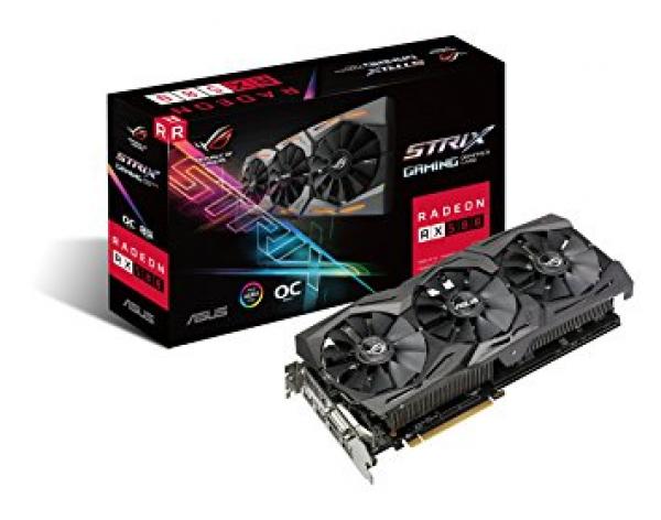 ASUS  ( Strix-rx580-o8g-gaming STRIX-RX580-O8G-GAMING