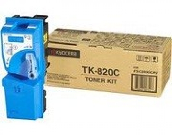 KYOCERA Cyan Toner Kit For 1T02HPCEU0
