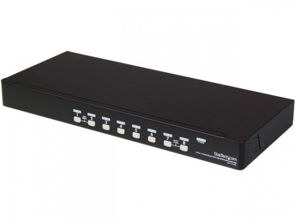 STARTECH 8 Port 1u Rackmount Usb Kvm Switch Kit SV831DUSBUK