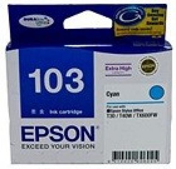 EPSON Extra High Capacity Cyan T40w Tx610fw T103292