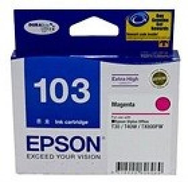 EPSON Extra High Capacity Magenta T40w Tx610fw T103392