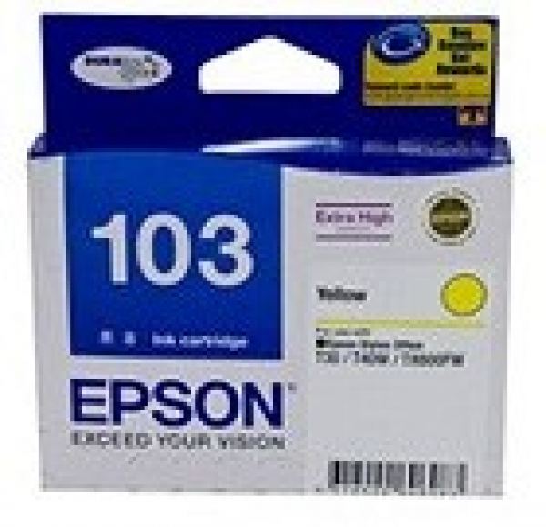 EPSON Extra High Capacity Yellow T40w Tx610fw T103492