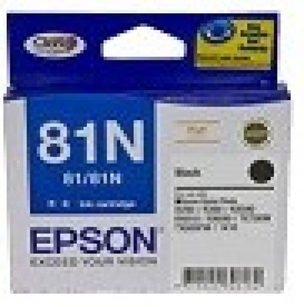 EPSON 81n Black Ink Cartridge For Stylus Photo T111192