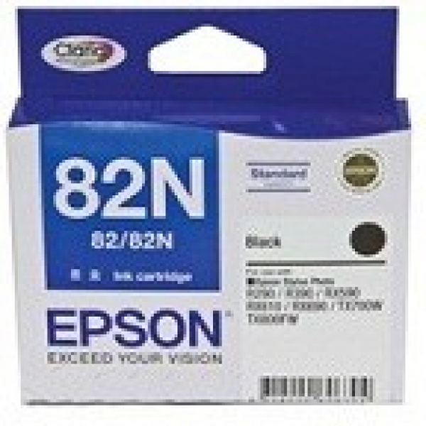 EPSON Standard Capacity Black Ink Cartridge For T112192