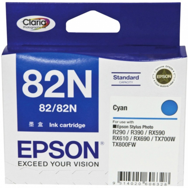 EPSON Standard Capacity Cyan Ink Cartridge For T112292