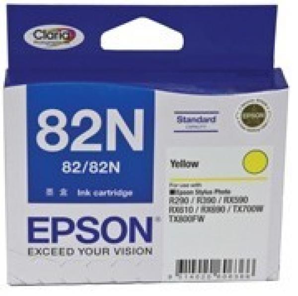 EPSON Standard Capacity Yellow Ink Cartridge T112492