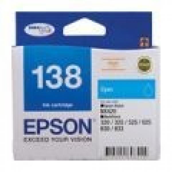 EPSON 138 High Capacity Cyan Ink Cartridge T138292