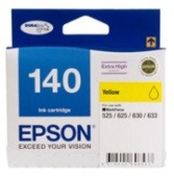 EPSON 140 Extra High Capacity Yellow Ink T140492