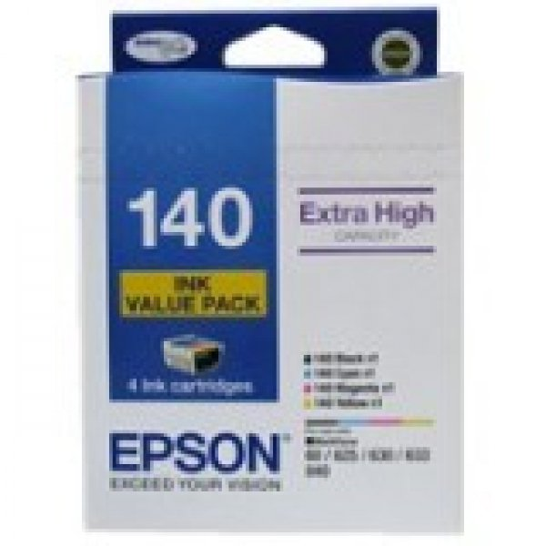 EPSON 4 High Capacity T140 Ink Value Pack (4 T140692