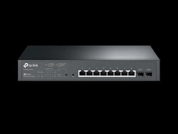 TP-Link Jetstream 8-Port Gigabit Smart PoE+ Switch (T1500G-10MPS)