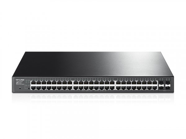 TP-LINK  Jetstream 48-port Gigabit Smart Poe+ T1600G-52PS
