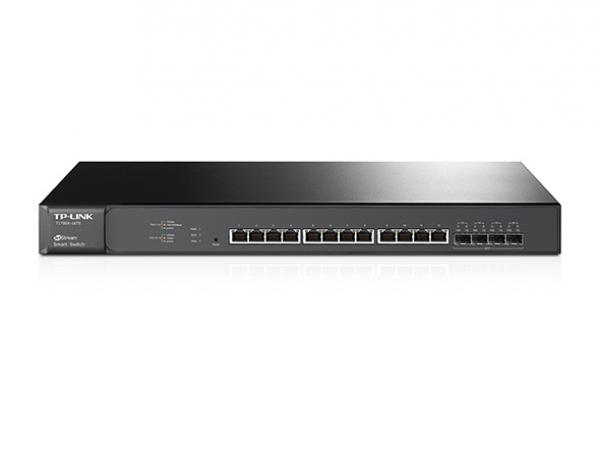TP-Link Jetstream 12-Port 10GBase-T Smart Switch (T1700X-16TS)