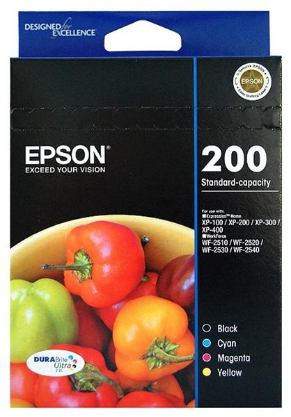 EPSON Std Capacity Durabrite Ultra 4 Ink Value T200692