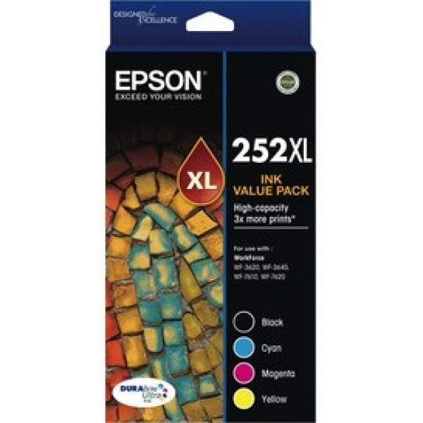 EPSON High Capacity Durabrite Ultra 4 Ink Value T253692