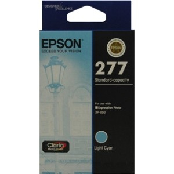 EPSON 277 Std Capacity Claria Photo Hd Cyan T277292