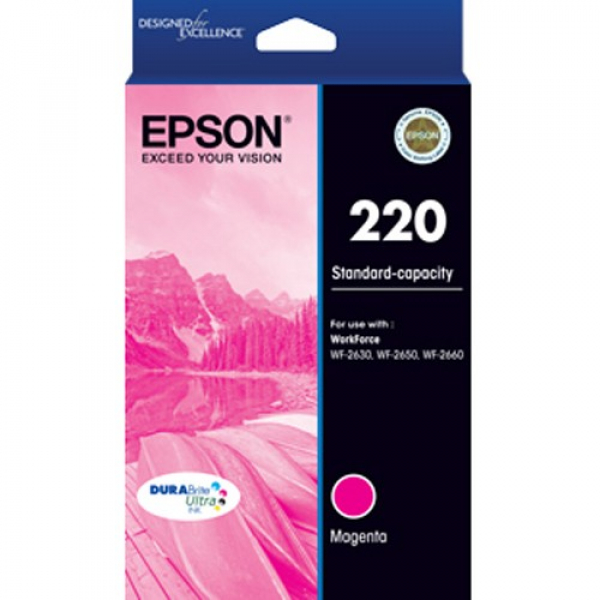 EPSON 220 (c13) Std Capacity Magenta Ink T293392