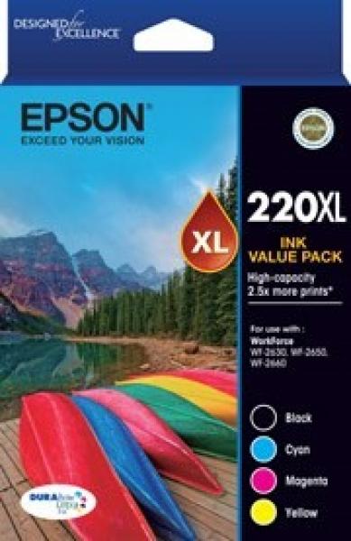 EPSON 220xl Vp High Capacity Durabrite Ultra 4 T294692