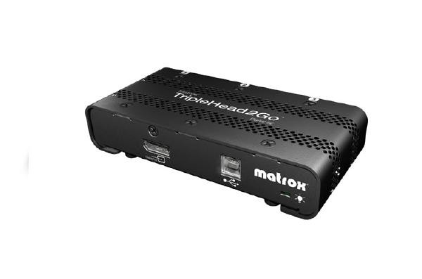 MATROX Triplehead2go - Digital T2G-DP3D-IF