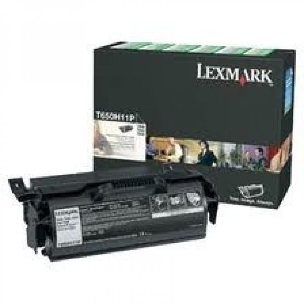 LEXMARK Black Prebate Toner Yield 25000 Pages T650H11P