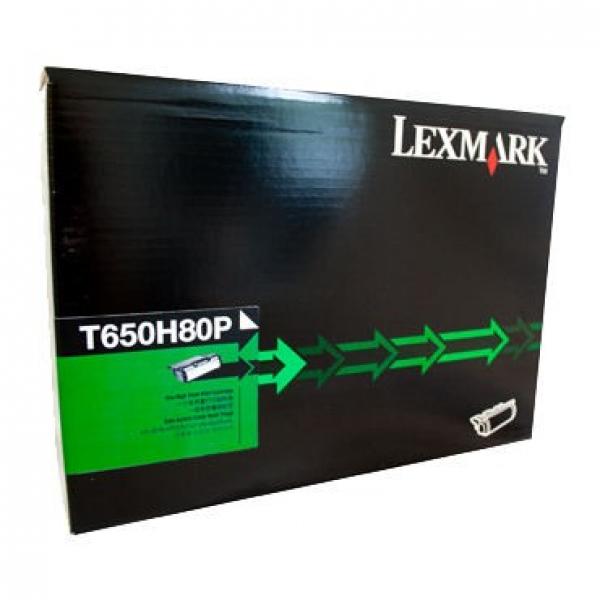LEXMARK T65x High Yield Reman Cartridg E 25k T650H80P