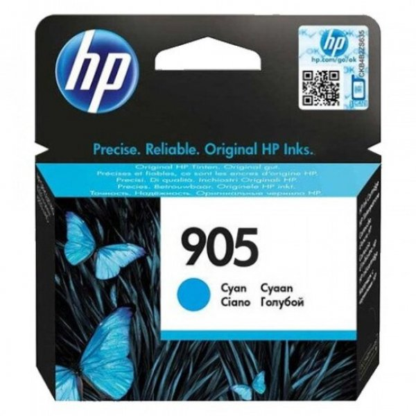 HP 905 Cyan Original Ink T6L89AA