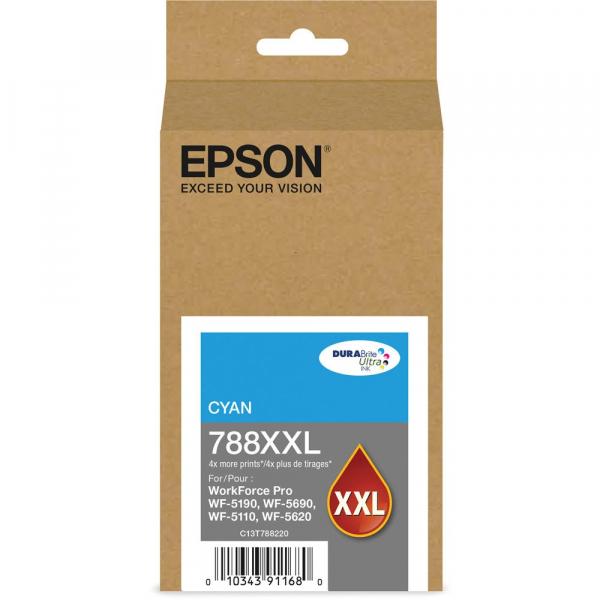 EPSON 788xxl Cyan Durabrite Ink T788292