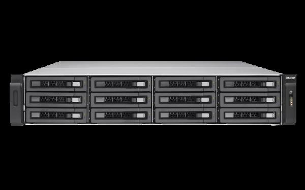 Qnap Nas12+6 Bay(No Disk) 8GB Xeon -1521PC Network Storage (TES-1885U-D1521-8GR)