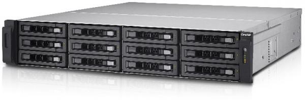 Qnap 2U Dual Os Xeon 2.2GHZ 6 Core 12xSAS HDD Network Storage (TES-1885U-D1531-16GR)