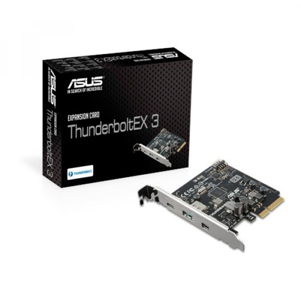 Asus Thunderbolt 3 Card Pci-e X4 Single Port Motherboard (Thunderboltex 3)