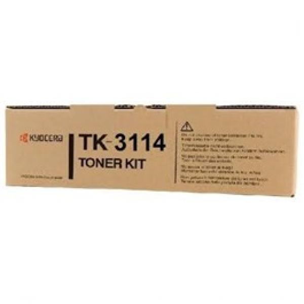 KYOCERA MITA  Black Toner Kit 15500 Page Yield TK-3114