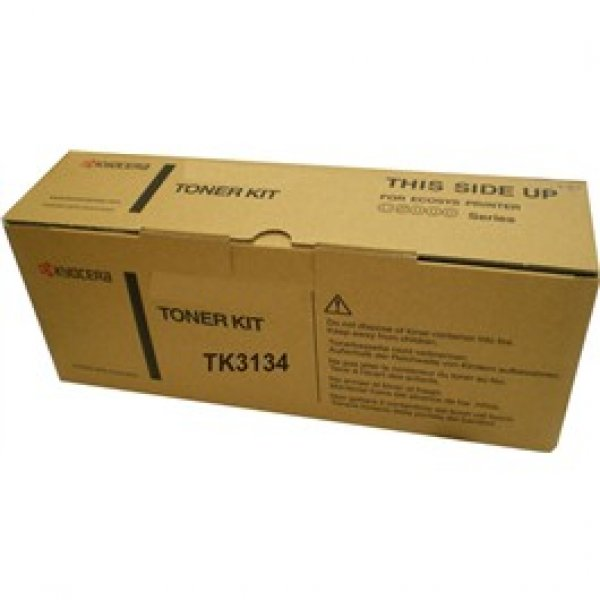 KYOCERA MITA  Black Toner Kit 25000 Page Yield TK-3134