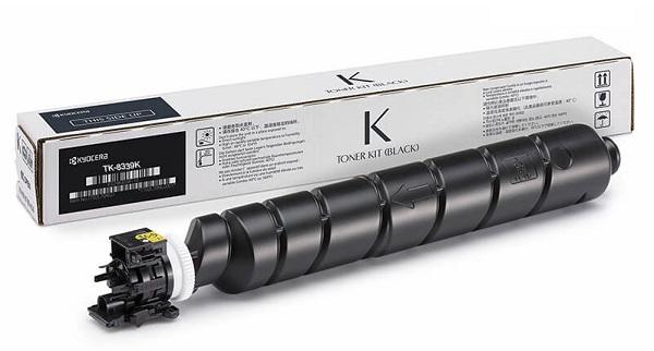 Kyocera TK-8339K Toner Kit - Laser Toners Black (1T02RL0AS0)