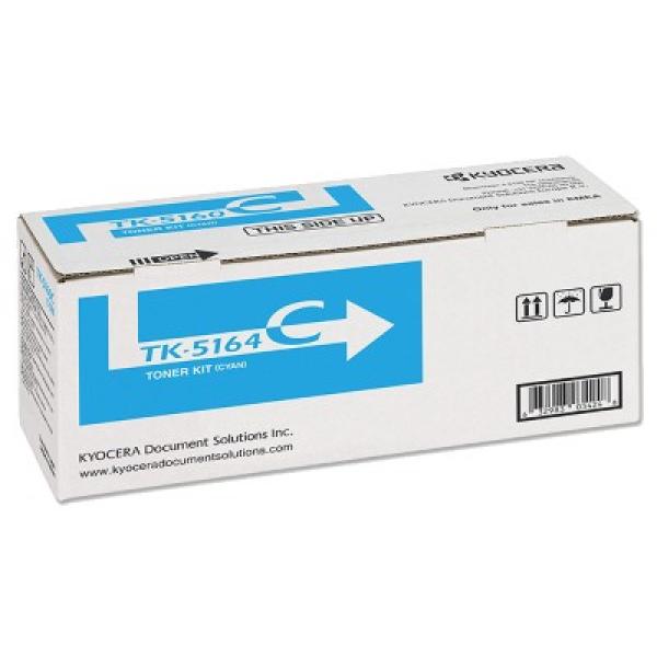 KYOCERA MITA Cyan Toner 12k Pages For TK-5164C