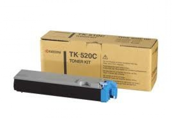 KYOCERA MITA Cyan Toner For TK-520C