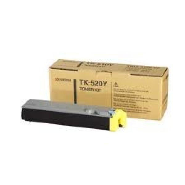 KYOCERA MITA Yellow Toner For TK-520Y