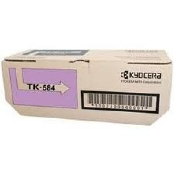 KYOCERA MITA Magenta Toner Kit Yield 2.8k For TK-584M