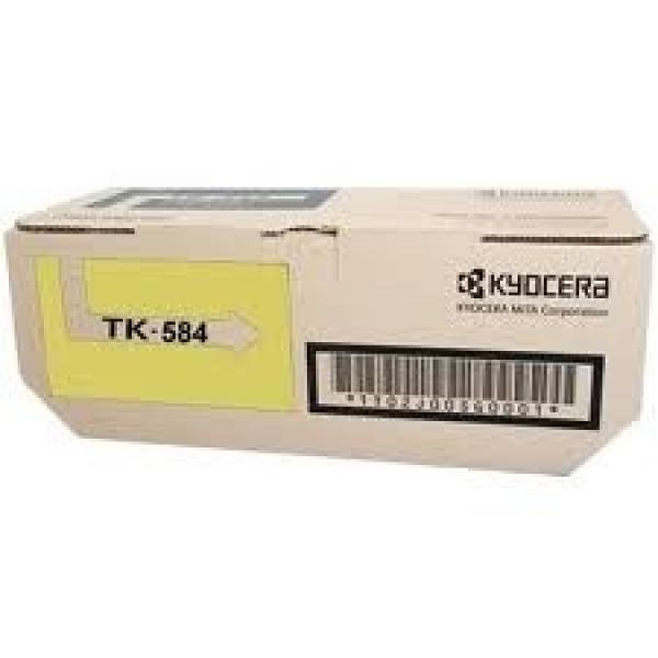 KYOCERA MITA Yellow Toner Kit Yiled 2.8k For TK-584Y