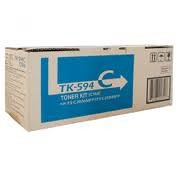 KYOCERA MITA Cyan Toner Kit Yield 5k TK-594C