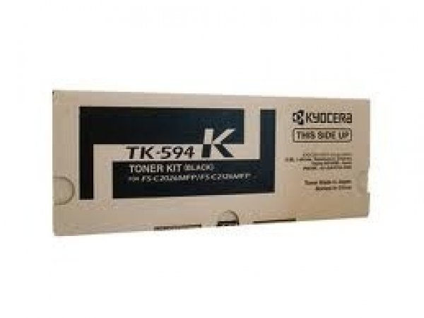 KYOCERA MITA Black Toner Kit Yield 7k For TK-594K