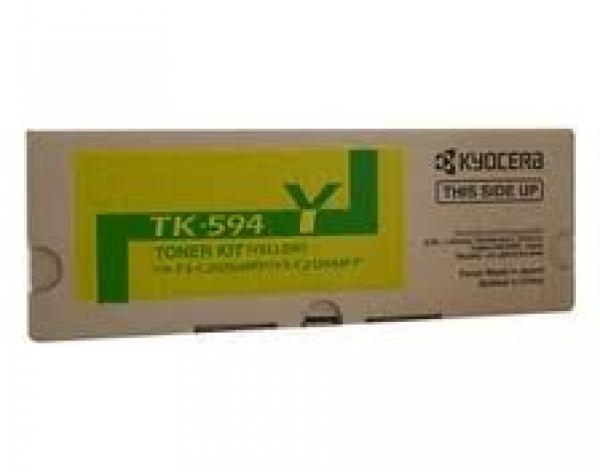 KYOCERA MITA Yellow Toner Kityield 5k TK-594Y