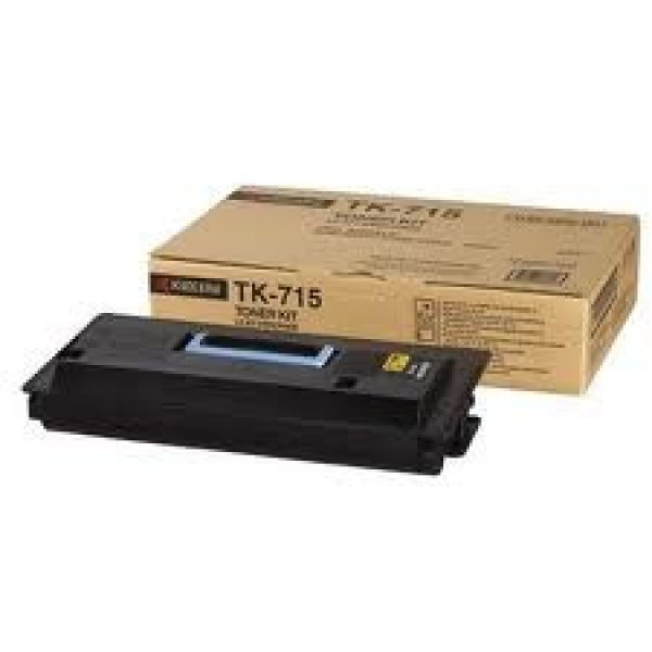 KYOCERA MITA Black Toner For TK-715
