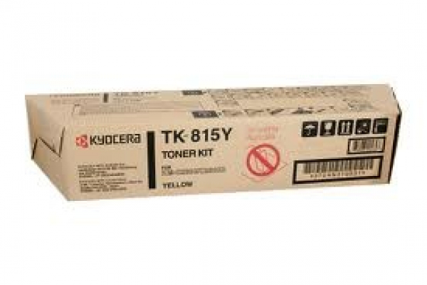 KYOCERA MITA Yellow Toner For TK-815Y