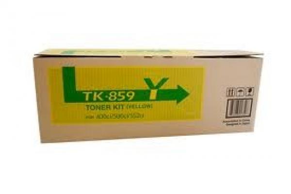 KYOCERA MITA Taskalfa 400ci/500ci Yellow Toner TK-859Y