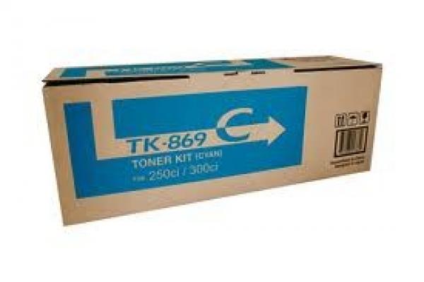 KYOCERA MITA Cyan Toner 12k Yield For TK-869C