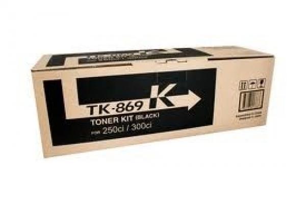 KYOCERA MITA Black Toner 20k Yield For TK-869K