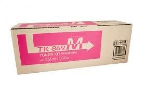 KYOCERA MITA Magenta Toner 12k Yield For TK-869M