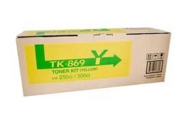 KYOCERA MITA Yellow Toner 12k Yield For TK-869Y