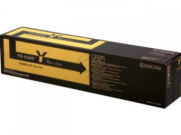 KYOCERA MITA Tk8709y Yellow Toner TK-8709Y
